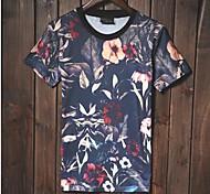 Casual stampa T-shirt da uomo