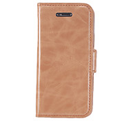 Smooth PU Leather Full Body Case with Stand and Card Slot for iPhone 5C (Assorted Colors)