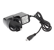 B-352 England Standard AC/DC Adapter/Charger Micro for Tablet (5V, 2000mA, Black)