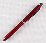 Mini Capacitive Touch Screen Stylus Clip Stylus Pen Sync Ballpoint Pen for iPad and Others(Assorted Colors)