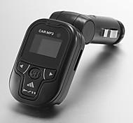 Joueur athlétique prospectifs axe de pivotement dans la voiture Transmetteur FM MP3