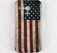 The Old Glory Pattern Soft Case Cover for Moto G