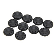 10 Pieces Thumbstick Joystick Cover Grips Cps Skin for Ps3 Ps4 XBOX 360(Black)