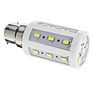 5W B22 LED Corn Lights 24 SMD 5730 450 lm Cool White AC 220-240 V