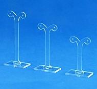 Ohrring-Ausstellungsstand-Halter 3 Stück in 1 Set für 3 Paar