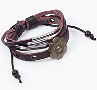 2015 Fashion CALFSKIN LEATHER BRACELET HANDMADE