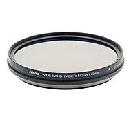 Nicna ND2~ND400 Premium Digital Fader ND Filter(72mm)