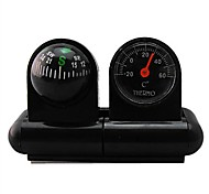 Car-used Thermometer and Compass 2 in One