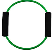Word O Style Latex Fitness Exercise Stretch Pull Rope - Green