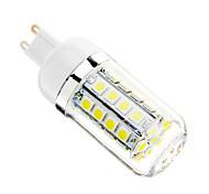 5W G9 LED-maïslampen T 36 SMD 5050 480 lm Koel wit AC 110-130 V