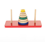 Colorful Wooden Counting Rings