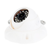 "1/4"" CMOS 420TVL 24IR LED IR Dome Security Camera"