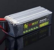 Лев 18.5V 5S 2800MAH 30C Lipo батареи питания для Вертолет самолет воздушных судов (Т Plug)