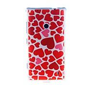 Kinston Heart of The Ocean Pattern TPU Soft Case for Nokia Lumia 520