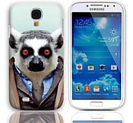 Adorável Bradypode Padrão Hard Case com protetores de tela de 3-Pack para Samsung Galaxy S4 mini-I9190
