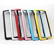 Gel della gomma di silicone protettiva copertura della cassa del respingente Shell duro per LG Google Nexus 5 D820