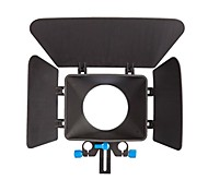 YELANGU Camera Black Matte Box Made Of ABS For Digital Camera