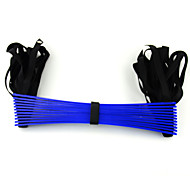 PP Plastic da aptidão estiramento Formação Ropes Escada - Azul