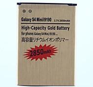 Reemplazo de la batería 2850mAh para la galaxia S4 Mini/i9190