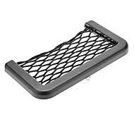 Black Car Auto Cell Phone Net Storage Holder Pocket Adhensive Organizer