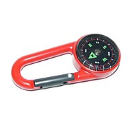 Outdoor portatile in lega di zinco Compass - Red