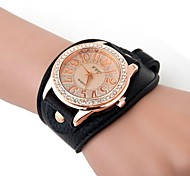 Women's Watch Diamante Golden Dial Cool Watches Unique Watches