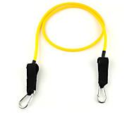 6 # Latex fitness exercício estiramento Pull Rope - Amarelo