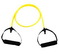 Látex de Fitness exercício do estiramento Pull Rope - Amarelo