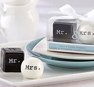 Criativo Exquisite Sr. / Mrs.Design Salt & Pepper (2 PCS)