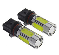 P13W H7 3W 200-300Lm 3 * 1.5Wcob Coche Bombillas-Blanco (12V)