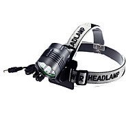 L32 Rechargeable 3-Mode 4xCree XM-L2 T6 Waterproof Headlamps(1xC-Cell,4000LM)Gray