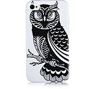 Owl Pattern Silicone Soft Case for iPhone4/4S