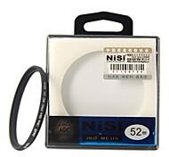 NISI 52mm MC UV Violet Protector Ultra-delgada Filtro lente recubrimiento multicapa de doble cara Ultra para Nikon Canon Sony Cámaras