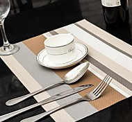 1 Plastique Sets de table
