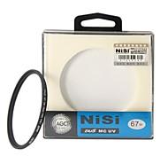 nisi® 67mm MC UV ultravioleta-fino de doble cara revestimiento multicapa protector de filtro de la lente para Nikon Sony del canon