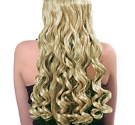 Clip in Synthetic Curly Hair Extensions with 6 Clips - 7 Colors Available