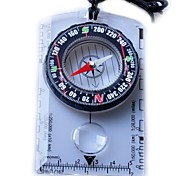 Multi Map Compass+Multiple Scales-Transparent White+Black
