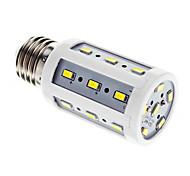 5W E26/E27 Bombillas LED de Mazorca T 24 SMD 5730 450 lm Blanco Fresco AC 100-240 V