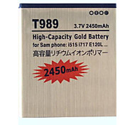 2450mAh Replacement Battery for T989 Sam phone:i515 i717 E120L