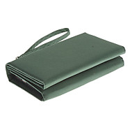 KP-8000 8000mAh Folding Solar Storage External Battery Green for Driving Riding and Camping