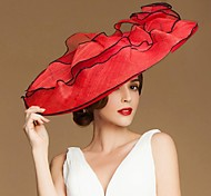 Fashional  Flax  Women Wedding/ Parting/ Honeymoon Hat With Floral(More Colors)