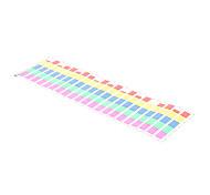 Adesivi musica suono attivato auto Equalizer luce variopinta 90 * 25cm 12V LED