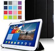 Mulbess dünner magnetischer Ledertasche mit Ständer für Samsung Galaxy Tab 10.1 Pro