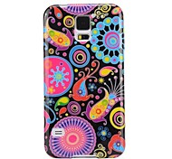Colorized Fish Pattern Ultra-slim Smooth Soft Gel TPU Case for Samsung Galaxy S5 I9600