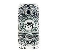 Kinston Titan Augen Muster TPU Soft Case für HTC ein (m8)