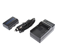 ismartdigi-Sony NP-FM50/FM51/QM50 1700mah,7.2V Camera Battery+Car charger for SONYF717 F828 S75 S70 S50 S85 a100 FM55H