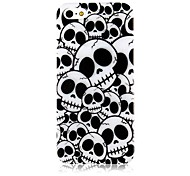 Cross Bones Pattern Case de silicona suave para iPhone4/4S