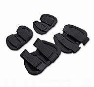 HATCH Tactical Safety Knee and Elbow Protection Pads Sets - Black