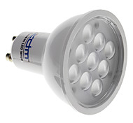 Lâmpada de Foco GU10 4 W 300 LM 3000 K Branco Quente 9 SMD 2835 AC 85-265 V