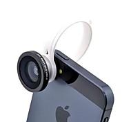 Stile universale C clip 180 gradi lente Fisheye per iPhone / iPad e altri cellulare